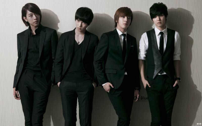 C.N.Blue_韩国实力派乐队C.N.Blue成员高清写真