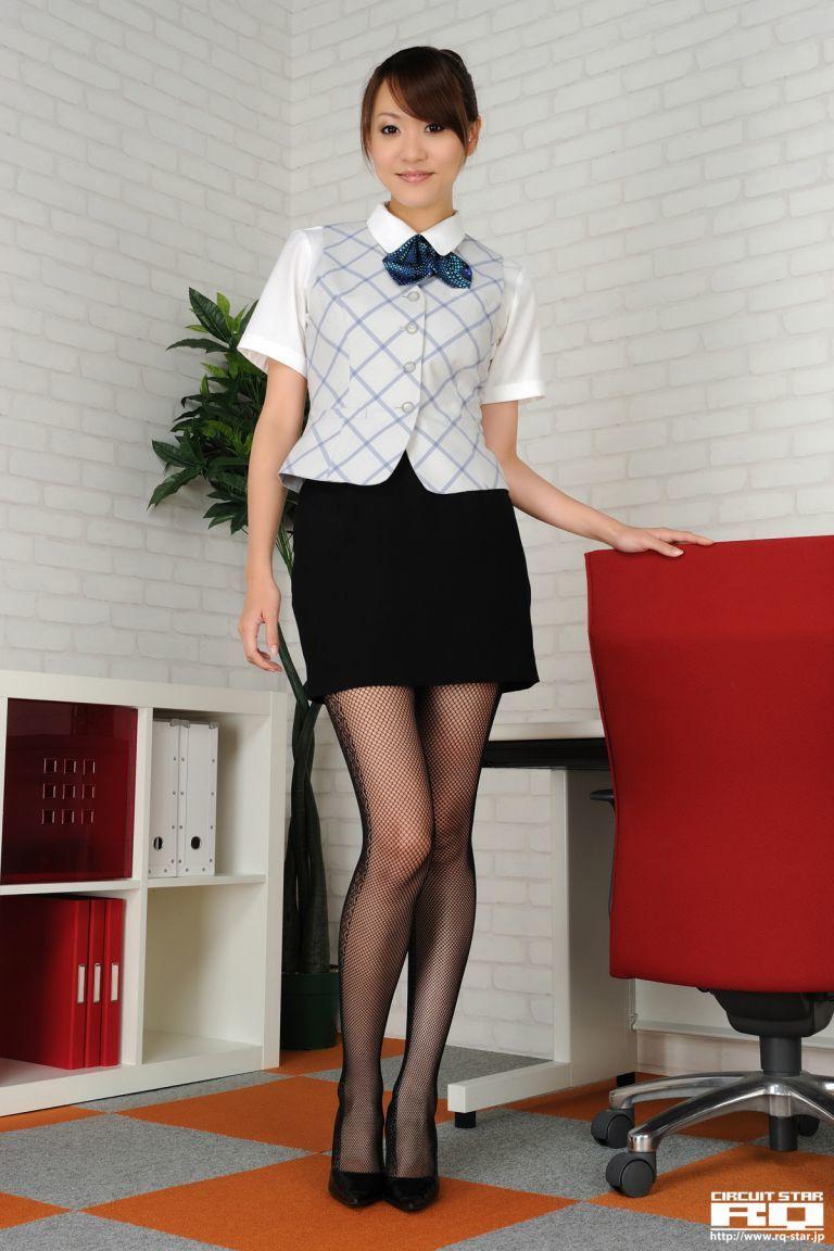 [RQ-STAR] NO.00433 Saki Ueda 植田早紀 Office Lady 办公室系列1