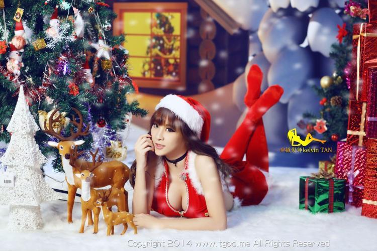 王子妃FayPrince《圣诞节大片》 [TGOD推女神] 写真集