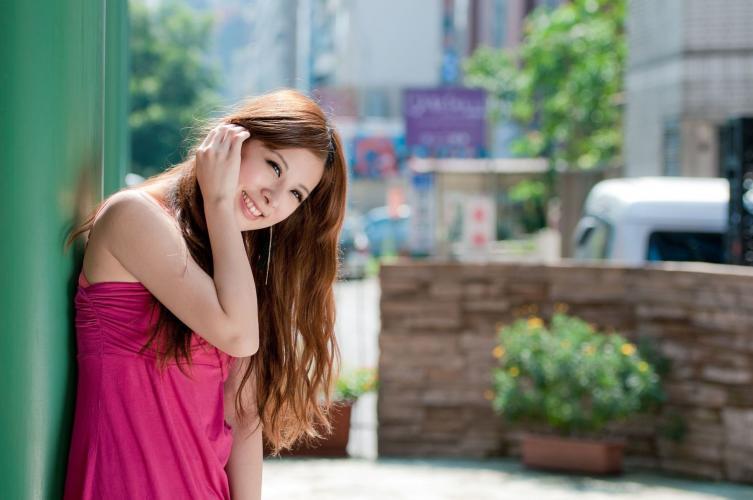 台湾美女小米Kate su《甜美长裙系列外拍》写真集