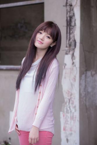 台湾美女林岗怡Didy《粉色少女》写真集