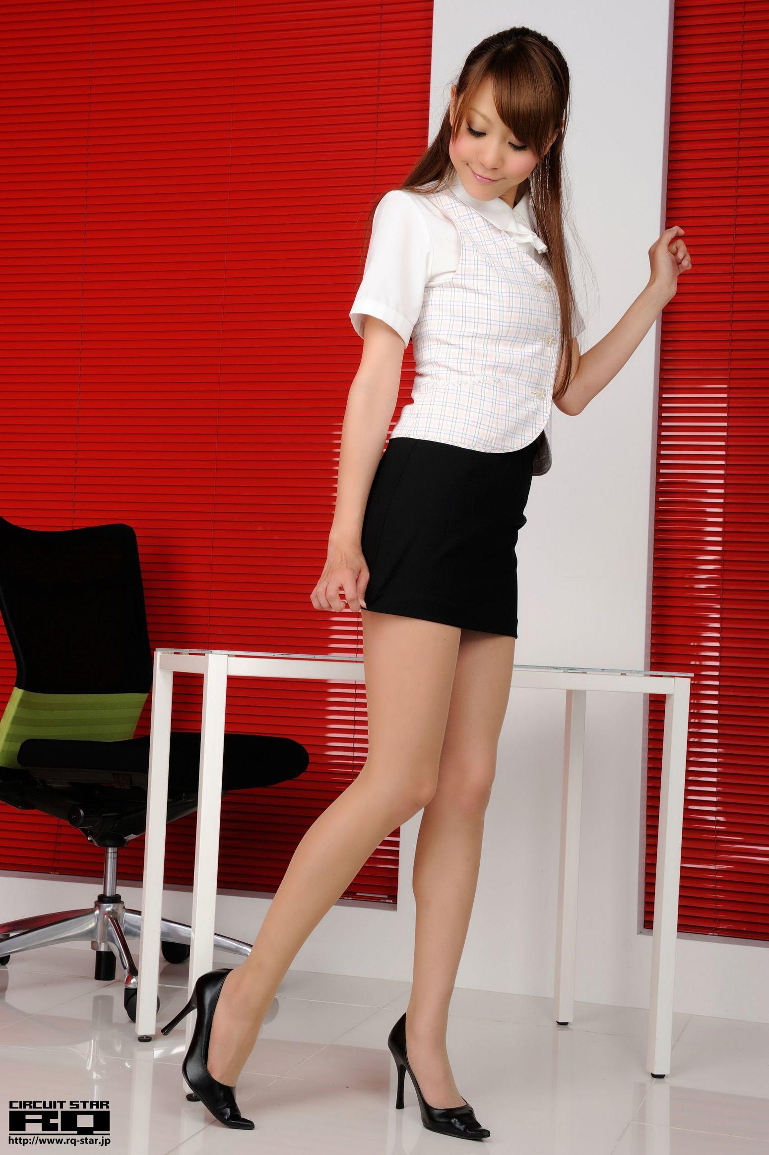 [RQ-STAR] NO.00657 Saki Ueda 植田早紀 Office Lady 写真集1