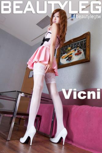 [Beautyleg] NO.842 腿模Vicni 美腿写真集
