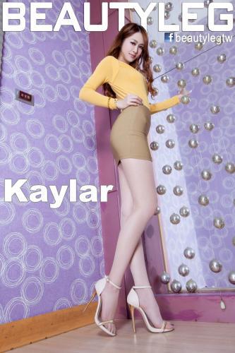 [Beautyleg] NO.1010 Kaylar 美腿写真集