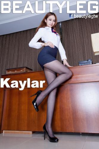 [Beautyleg] NO.1041 腿模Kaylar/康凯乐 美腿写真集