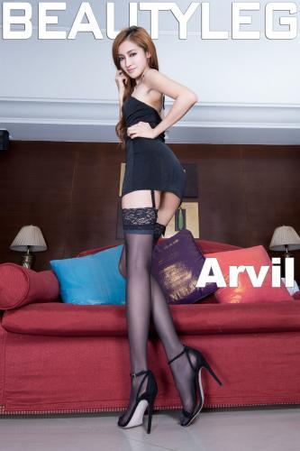 [Beautyleg] NO.1058 腿模Arvil 美腿写真集