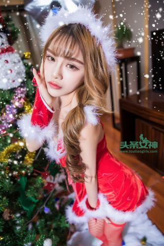 杏儿kitty《圣诞女郎》 [头条女神] 写真集