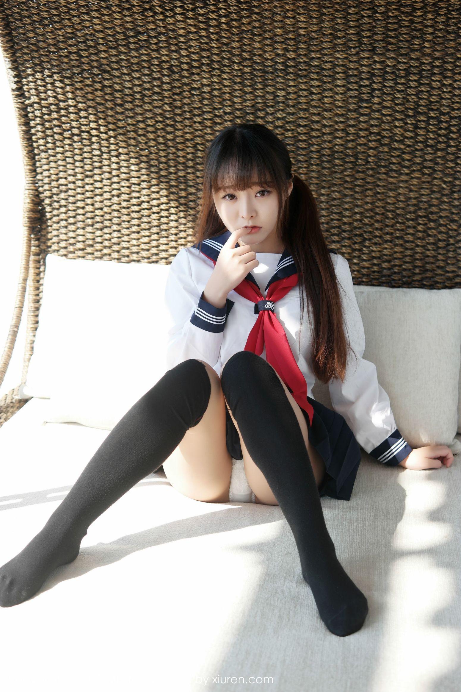 柳侑绮Sevenbaby《大理旅拍》水手服诱惑少女 [模范学院MFStar] Vol.002 写真集1