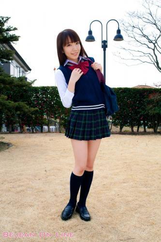 私立Bejean女学館 Airi Shimizu 清水あいり [Bejean On Line] 写真集