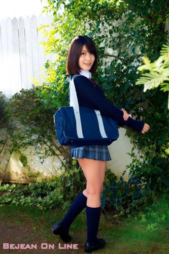私立Bejean女学館 Asuka Kishi 岸明日香 [Bejean On Line] 写真集