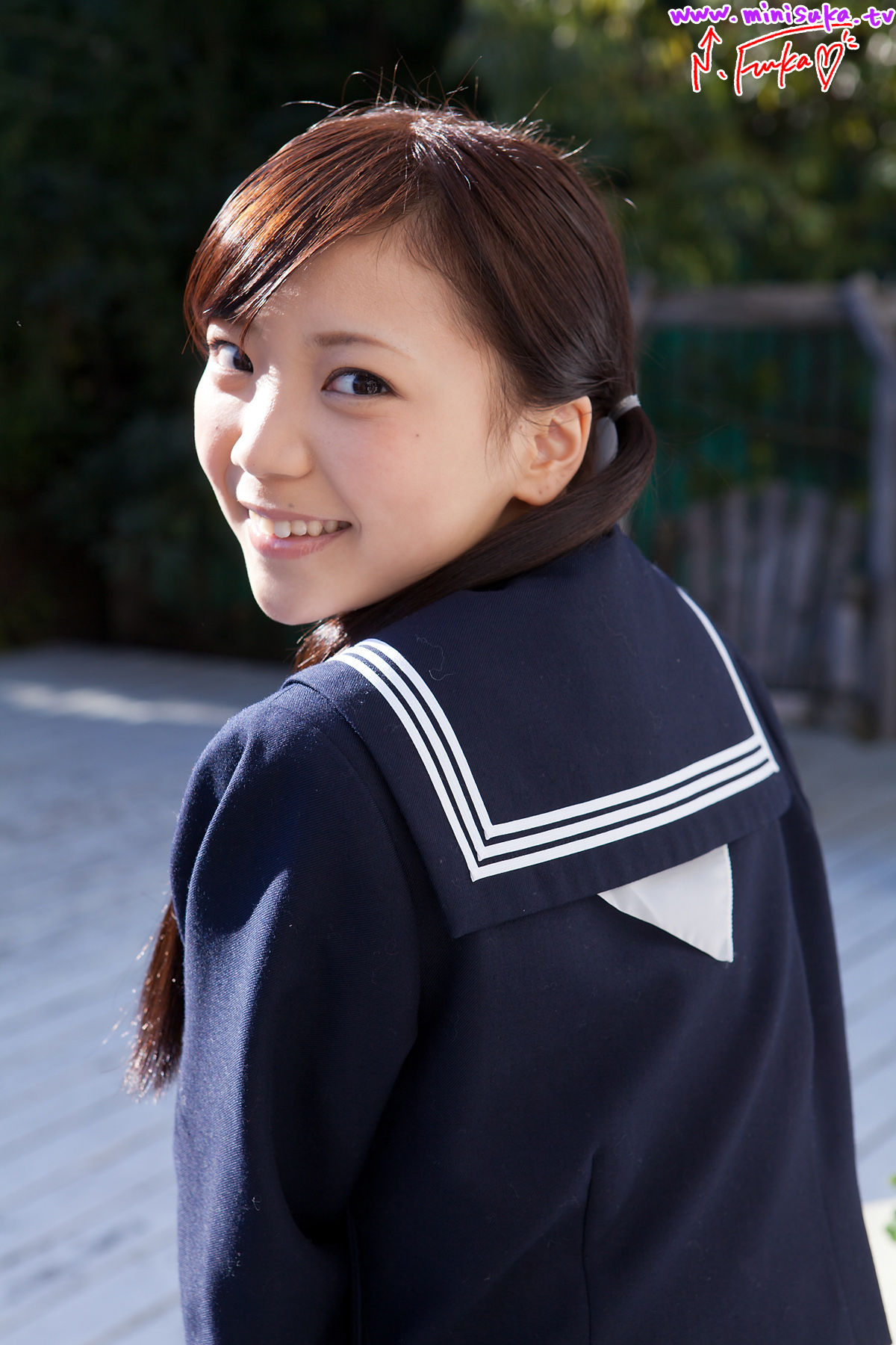 西浜ふうか Fuuka Nishihama 第一部 [Minisuka.tv] 写真集 - 微图坊