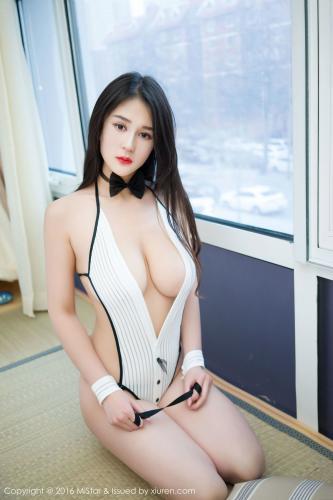 周小然《2套性感巨乳内衣》 [魅妍社MiStar] Vol.065 写真集