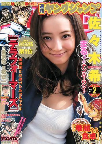 佐々木希 新井ひとみ [Weekly Young Jump] 2013年No.02 写真杂志