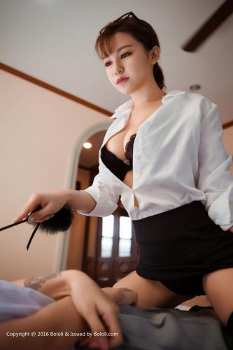 夏美酱、刘娅希《师生恋》双人写真 [Bololi波萝社] BOL.024 写真集