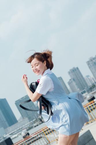 制服女神柳侑绮《青涩的回忆》 [Bololi波萝社] BOL.006 写真集