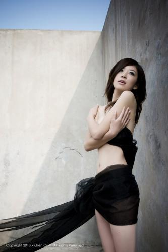 模特加菲《高挑的梦中情人》 [秀人网XiuRen] No.016 写真集