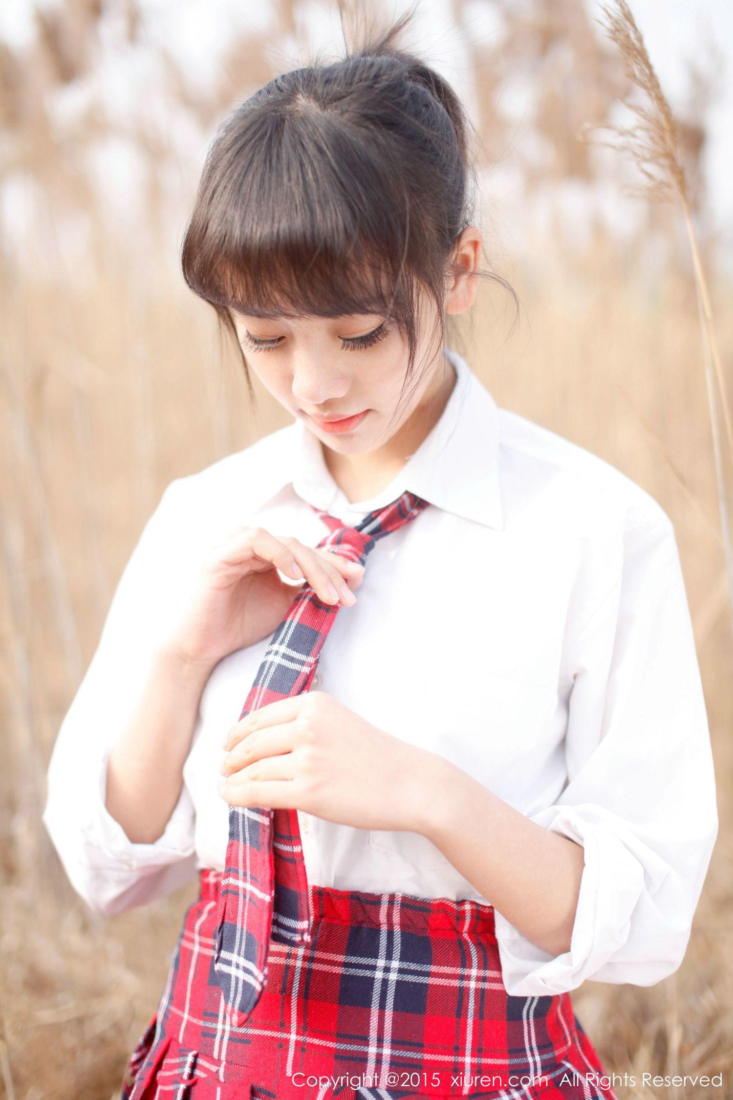邻家女孩七米baby小清新写真集 [秀人网XiuRen] No.318 1