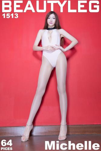 腿模Michelle《制服丝袜》 [Beautyleg] NO.1513 美腿写真集