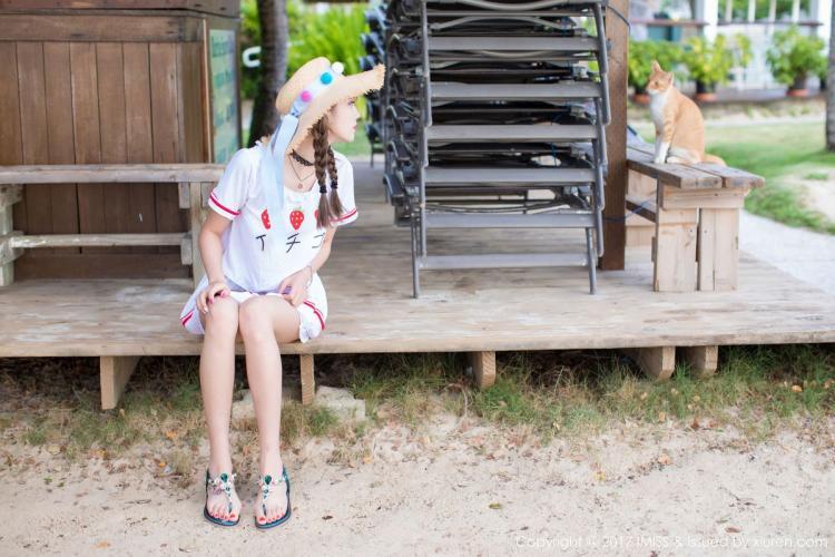 杨晨晨sugar《阳光和沙滩,香车与美人》 [爱蜜社IMiss] Vol.185 写真集