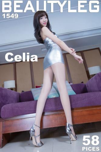 欣洁Celia《学生装+皮衣套裙》 [BeautyLeg] No.1549 美腿写真集