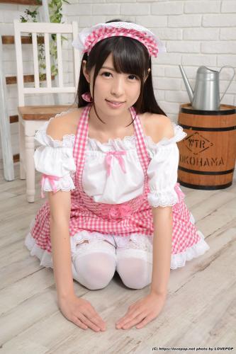 あおいれな Rena Aoi 粉色女仆 Maid Set01 [LovePop] 写真集