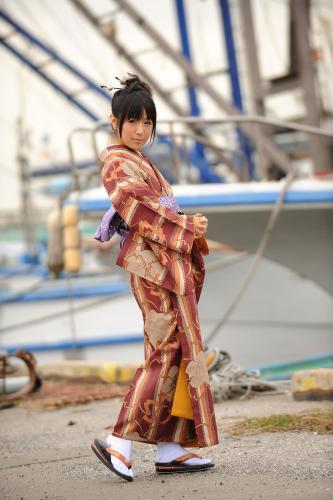 [X-City] KIMONO和テイスト 005 七海なな Nana Nanaumi 写真集