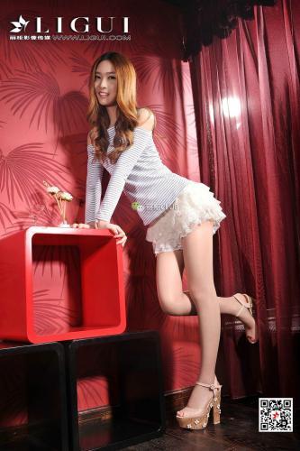 Model 允儿《短裙美腿玉足》 [丽柜Ligui] 写真集