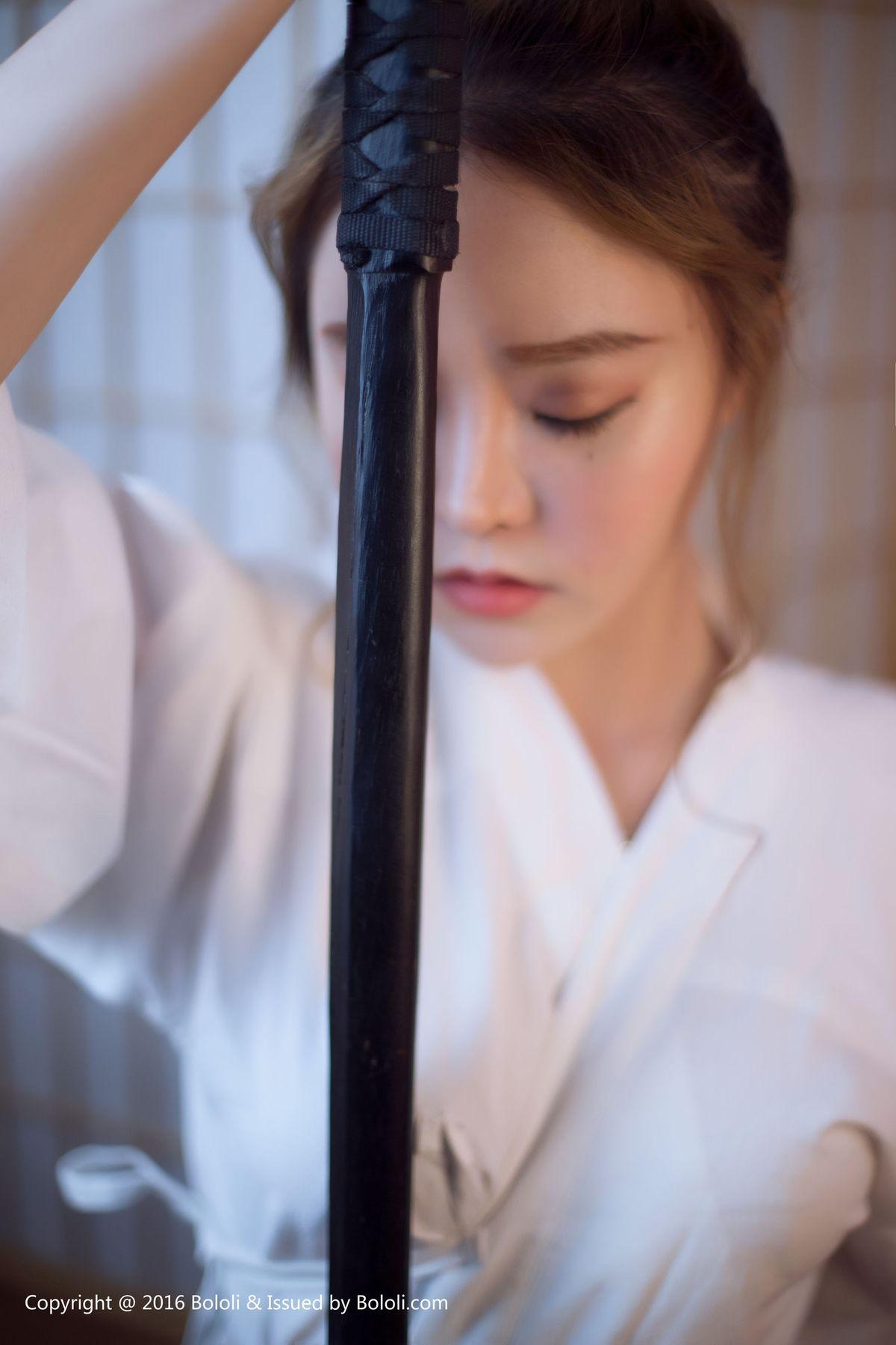 柳侑绮《剣道の女》 [波萝社BoLoli] BOL135 写真集25