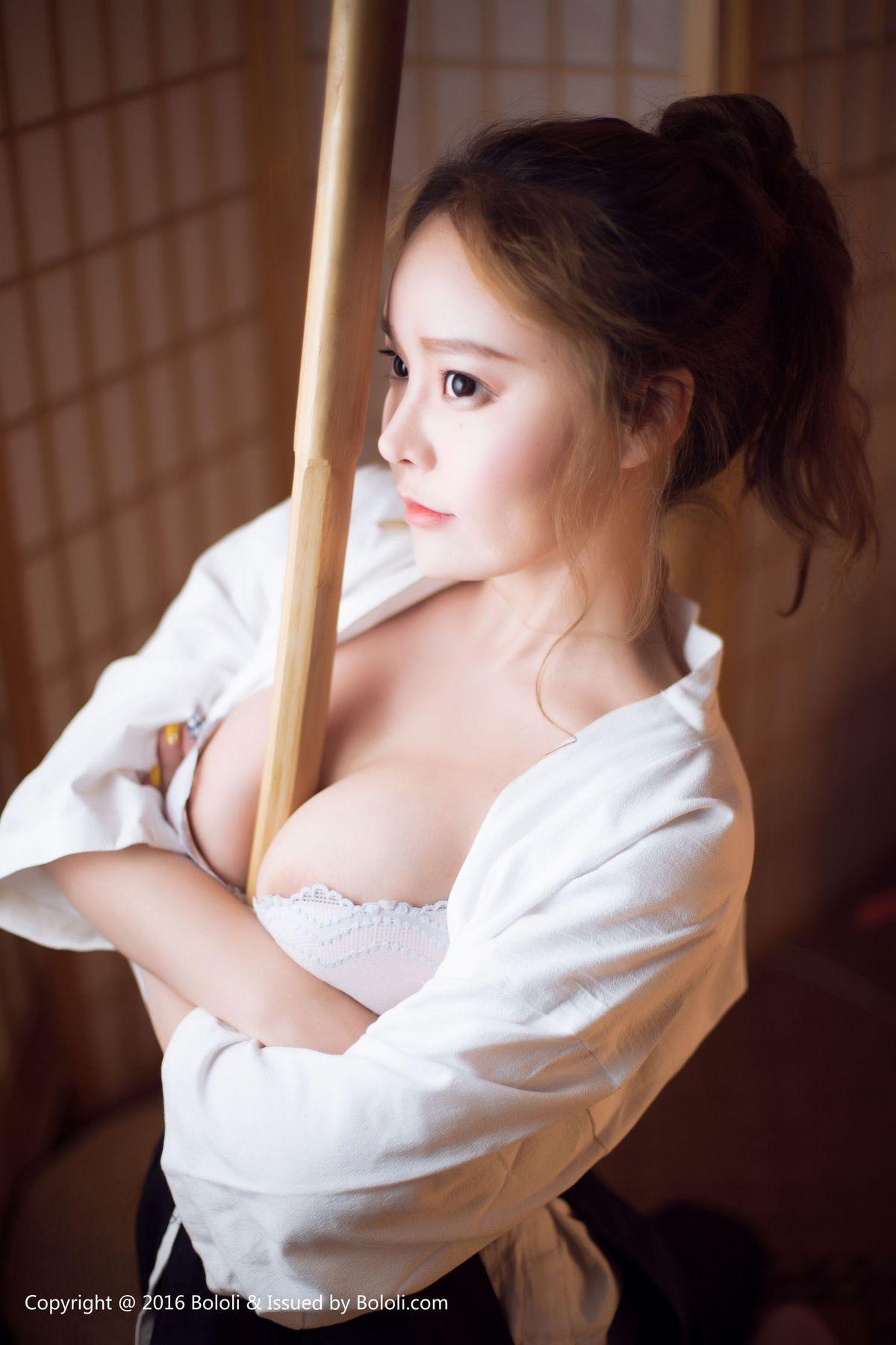 柳侑绮《剣道の女》 [波萝社BoLoli] BOL135 写真集6