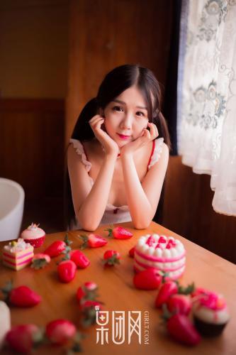《草莓女孩》 [果团Girlt-熊川纪信] No.024 写真集