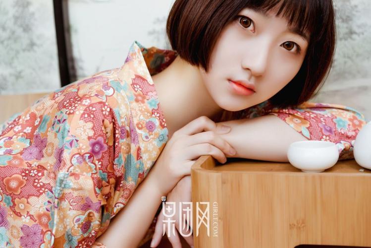 软萌妹子稻田千花《纯情的少女》 [果团Girlt] No.132 写真集