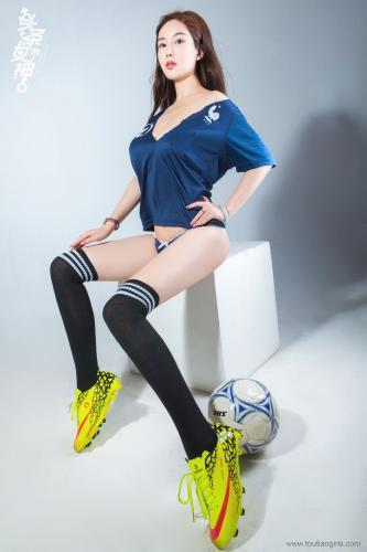 易阳《女神预测世界杯》 [头条女神Toutiaogirls] 写真集