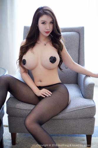 性感女神@Egg_尤妮丝《黑丝诱惑》 [花漾HuaYang] Vol.054 写真集