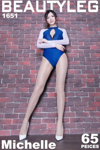 腿模Michelle小羽 [Beautyleg] No.1651 美腿写真集