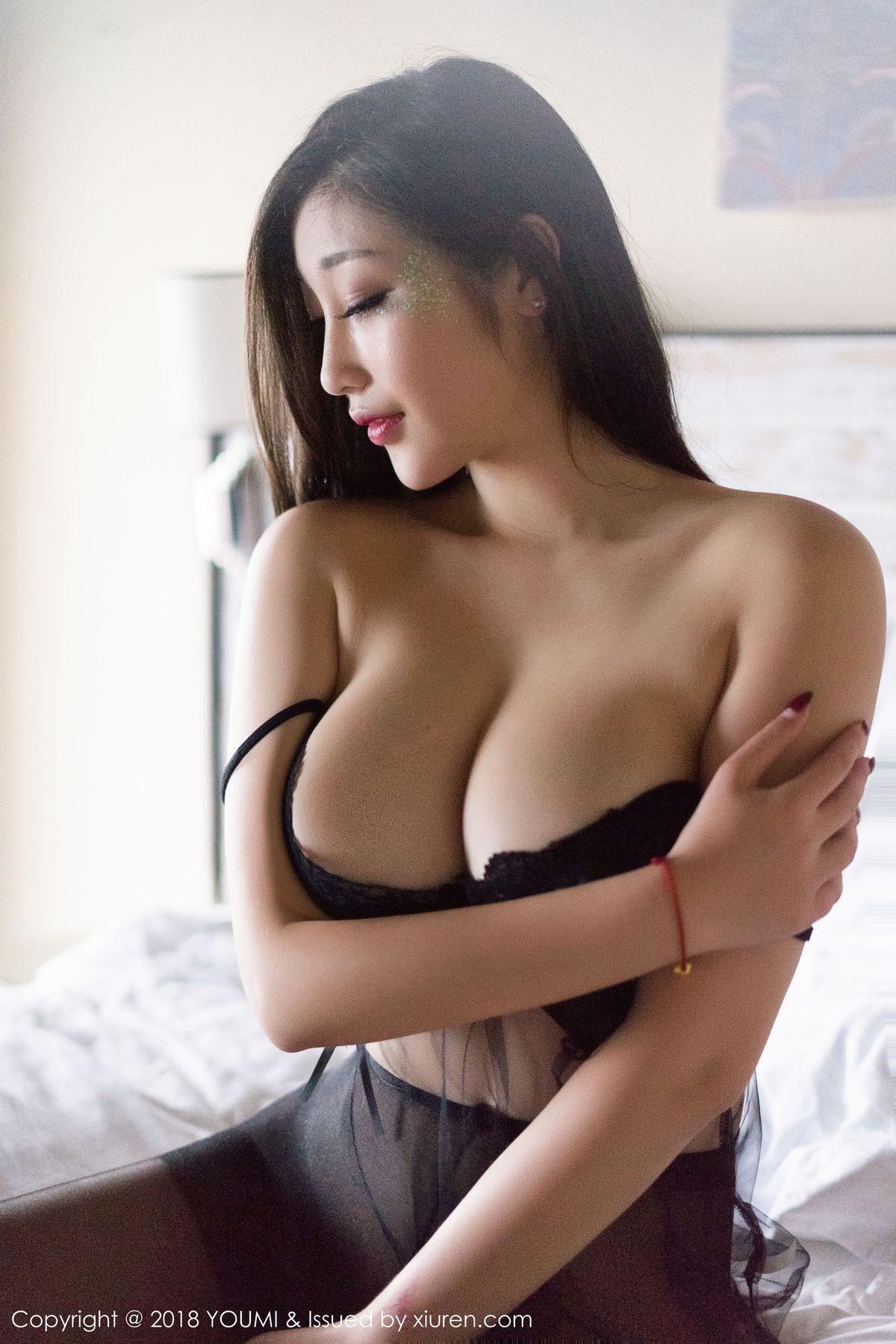 妲己_Toxic《黑丝诱惑+制服湿身》 [尤蜜荟YouMi] Vol.207 写真集1