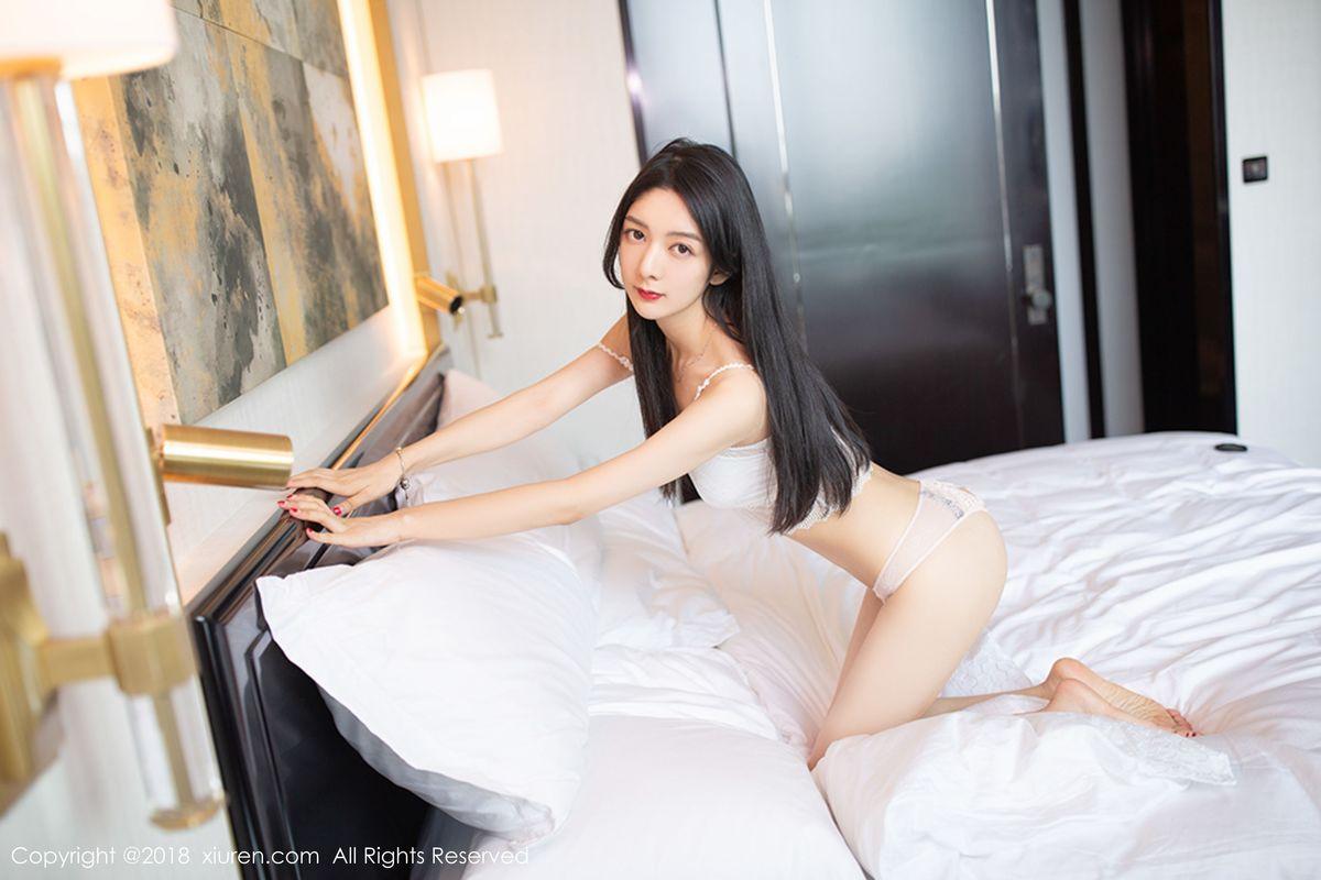 Angela小热巴《蕾丝私房魅惑》 [秀人XIUREN] No.1194 写真集1
