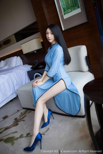 Angela小热巴《民国风女神》 [秀人XiuRen] No.1241 写真集