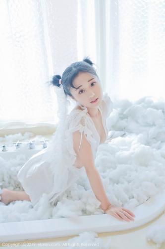 仓井优香《蕾丝小新娘+日系蓝色体操服》 [秀人XIUREN] No.1313 写真集