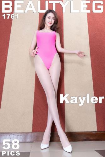 腿模Kaylar《高叉+肉丝袜美腿》 [Beautyleg] No.1761 写真集