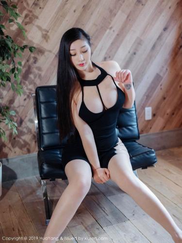 妲己_Toxic《白衬衫黑裙子的秘书角色扮演》[花漾HuaYang] Vol.129 写真集
