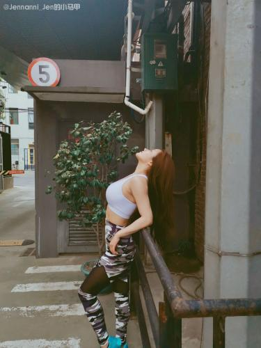 JennyR《jenny的健身日常》 [头条女神wordgirls] 写真集
