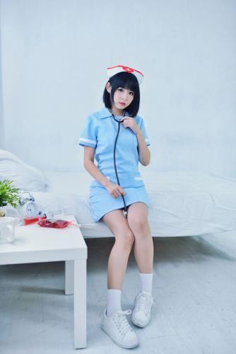 海琳《护士与女仆》 [台湾正妹] 写真集