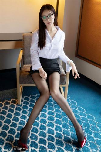 易阳Silvia《眼镜秘书OL角色扮演》 [尤蜜荟YouMi] Vol.320 写真集