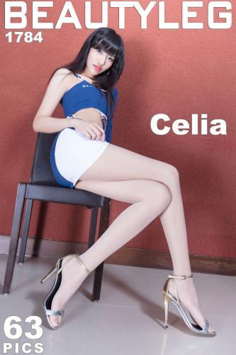 腿模Celia《包臀制服+黑丝OL美腿》 [Beautyleg] No.1784 写真集