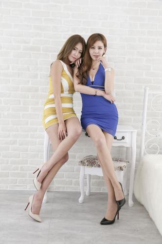 Winnie小雪&Dennise《长腿御姐姐妹花》 [台湾美女] 写真集