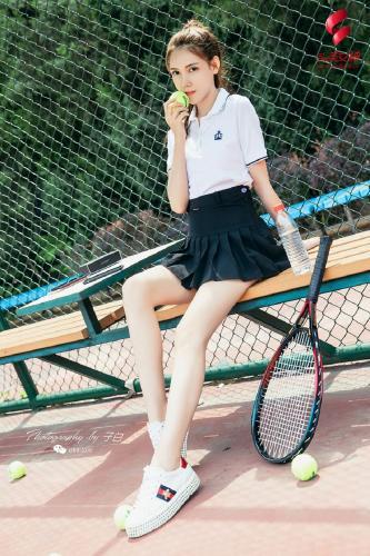 莎伦《我是网球美少女》 [头条女神wordgirls] 写真集