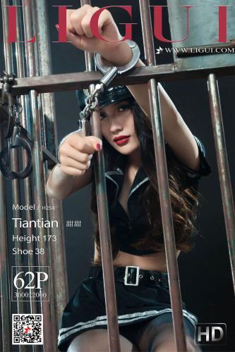 甜甜《监狱黑丝镣铐女警》 [丽柜美束LIGUI] 网络丽人 写真集