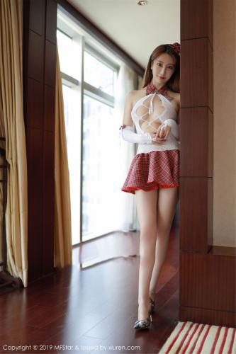 Betty林子欣《镂空内衣与格子短裙诱惑》 [模范学院MFStar] Vol.208 写真集