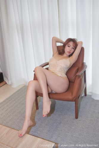 黄楽然《镂空内衣与白衬衫的精彩诱惑》 [秀人XiuRen] No.1674 写真集
