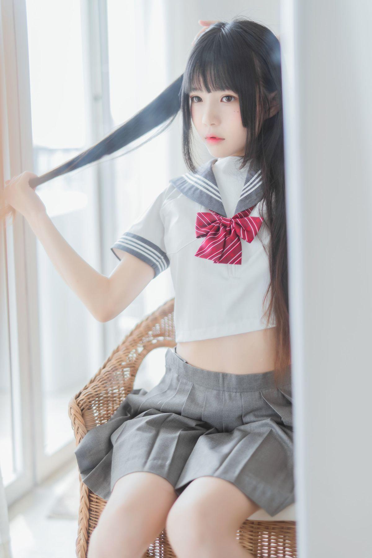 COSER桜桃喵《心形胖次》 [COSPLAY美女] 写真集1